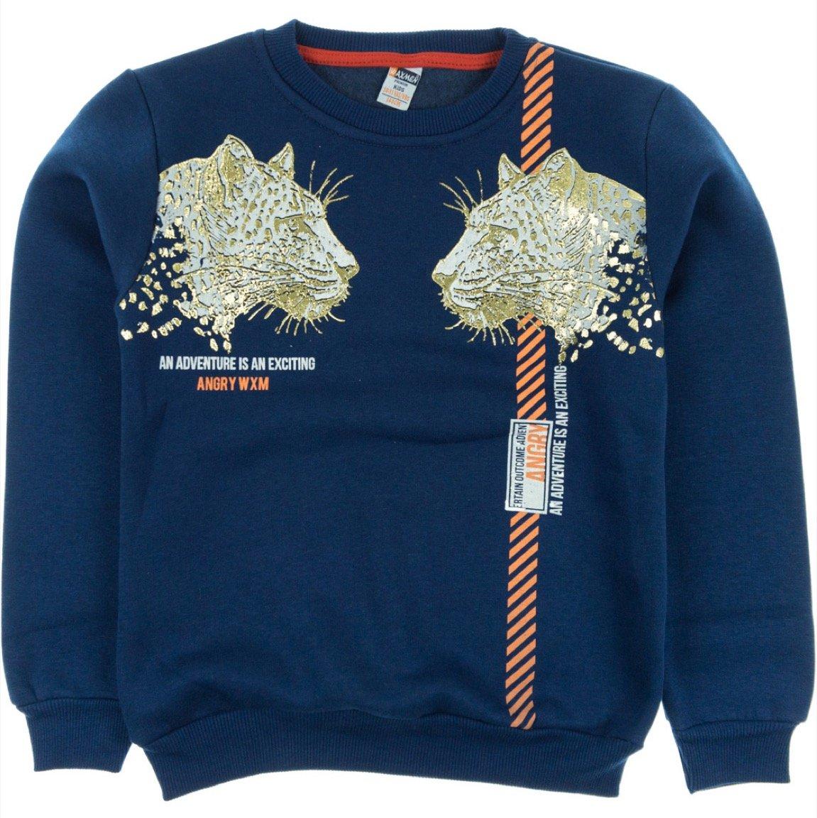 Waxmen παιδική φούτερ μπλούζα «Adventure»