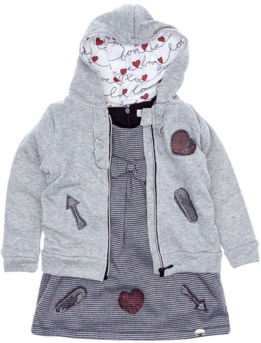 Εβίτα παιδικό σετ φόρεμα-ζακέτα «Arrows»