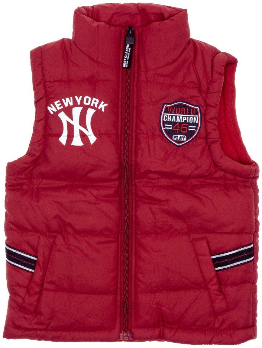 AΖ παιδικό αμάνικο μπουφάν «Red New York»