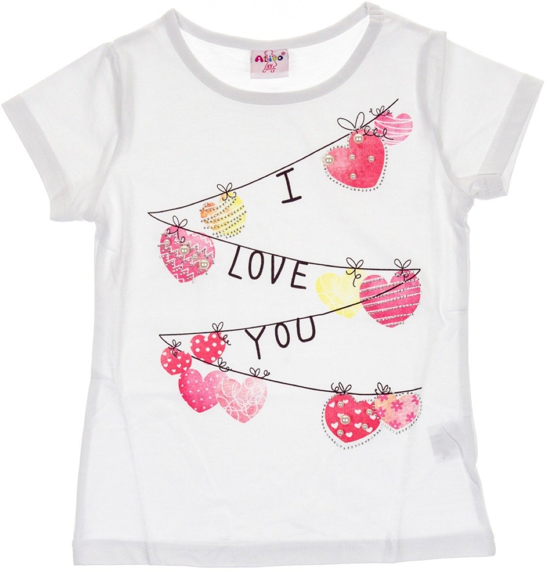 Ativo παιδική μπλούζα «I Love You»