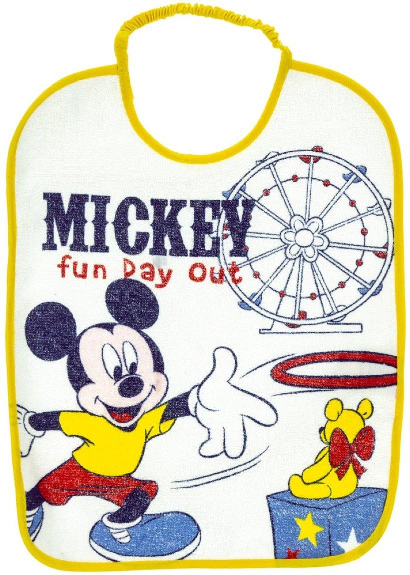 Disney βρεφική σαλιάρα φαγητού «Yellow Fun Day»