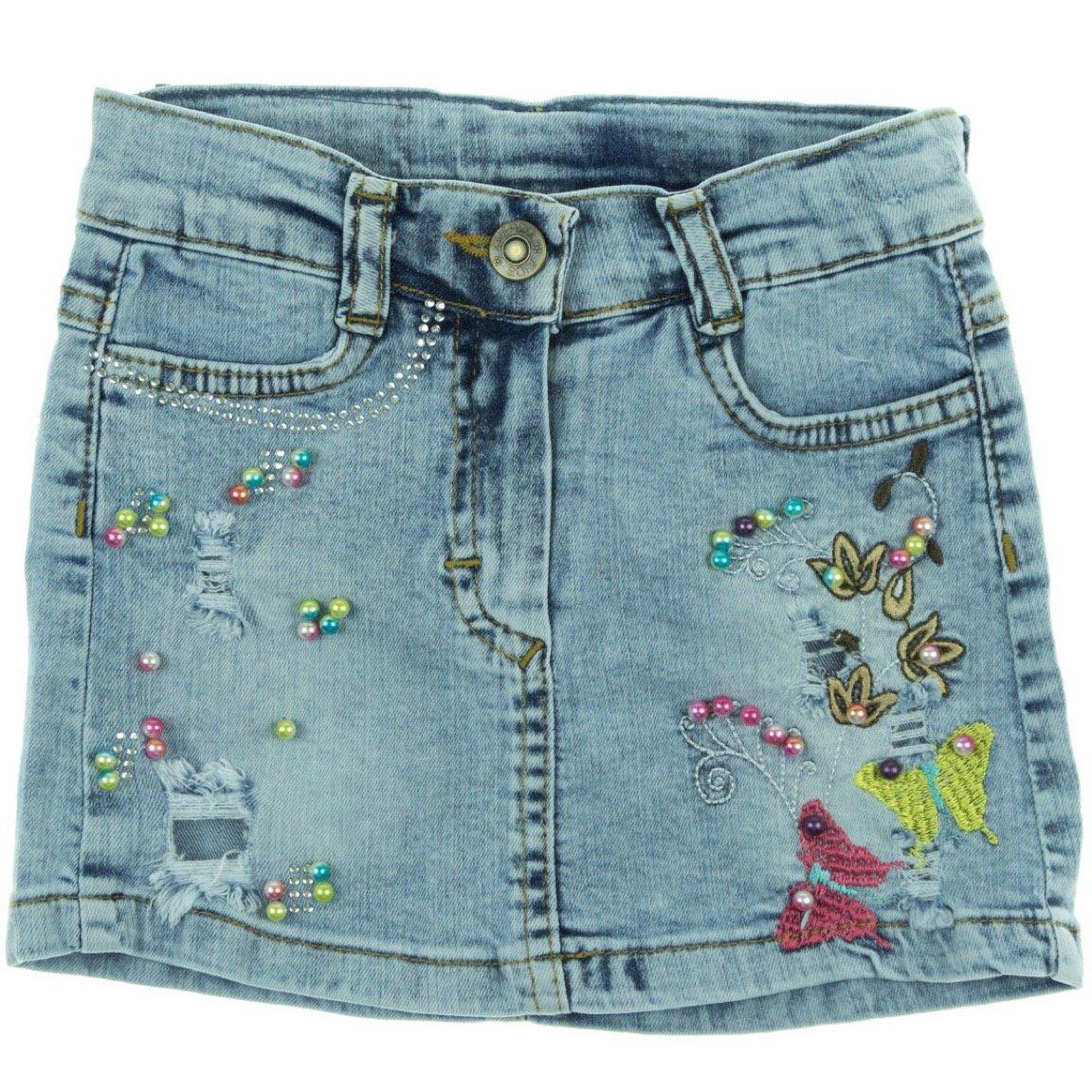Overdo παιδική φούστα «Jean Butterflies»