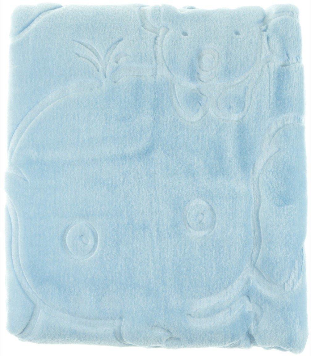 Golden Spring κουβέρτα για παιδικό κρεβάτι (κούνια) «Blue Elephant»