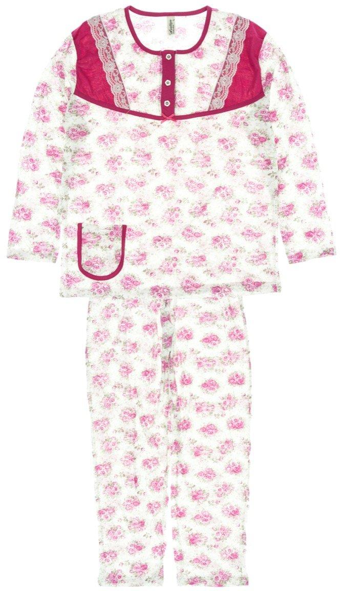 Azaliya γυναικεία εποχιακή πιτζάμα «Pink Roses»