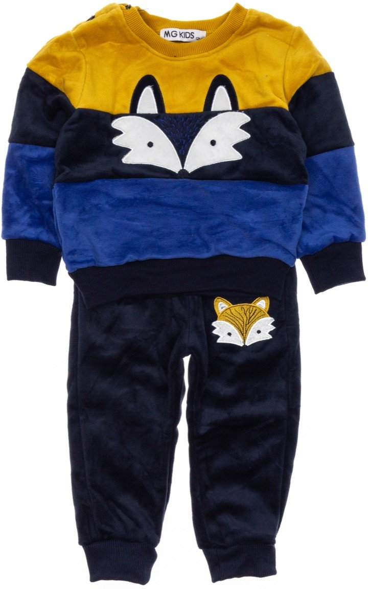 MG Kids παιδικό σετ φόρμα μπλούζα-παντελόνι «Blue Fox»