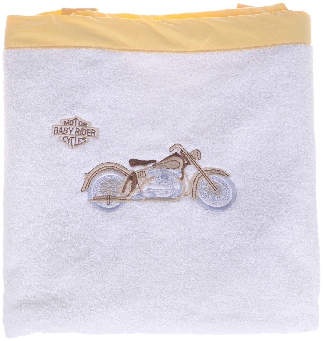 ΑΖ παιδική πετσέτα μπάνιου «Yellow Moto»