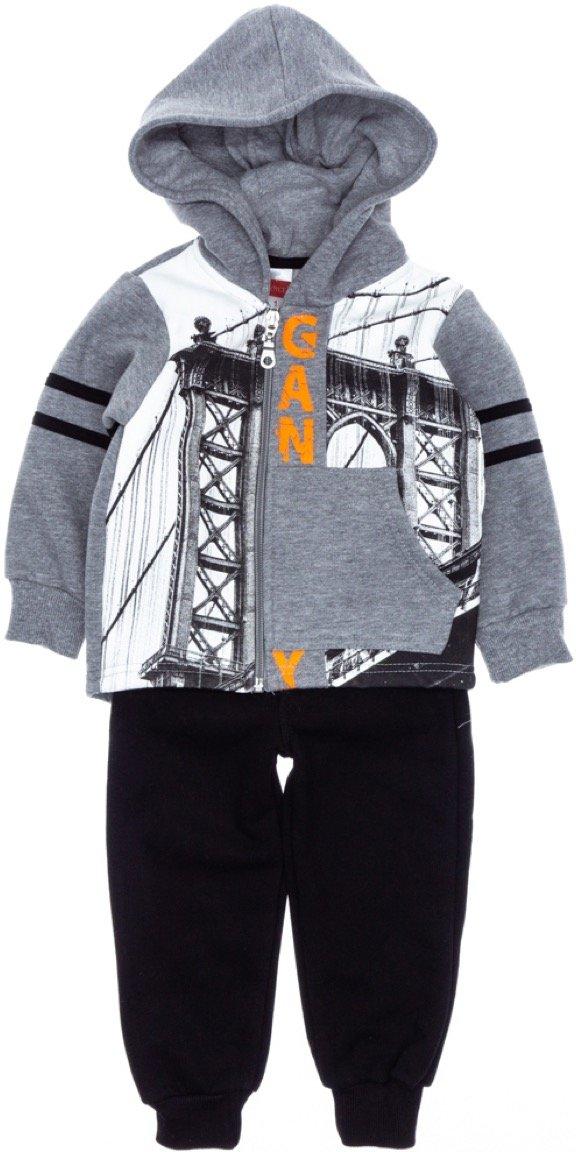 Joyce παιδικό σετ φόρμα ζακέτα-παντελόνι «Bridge»