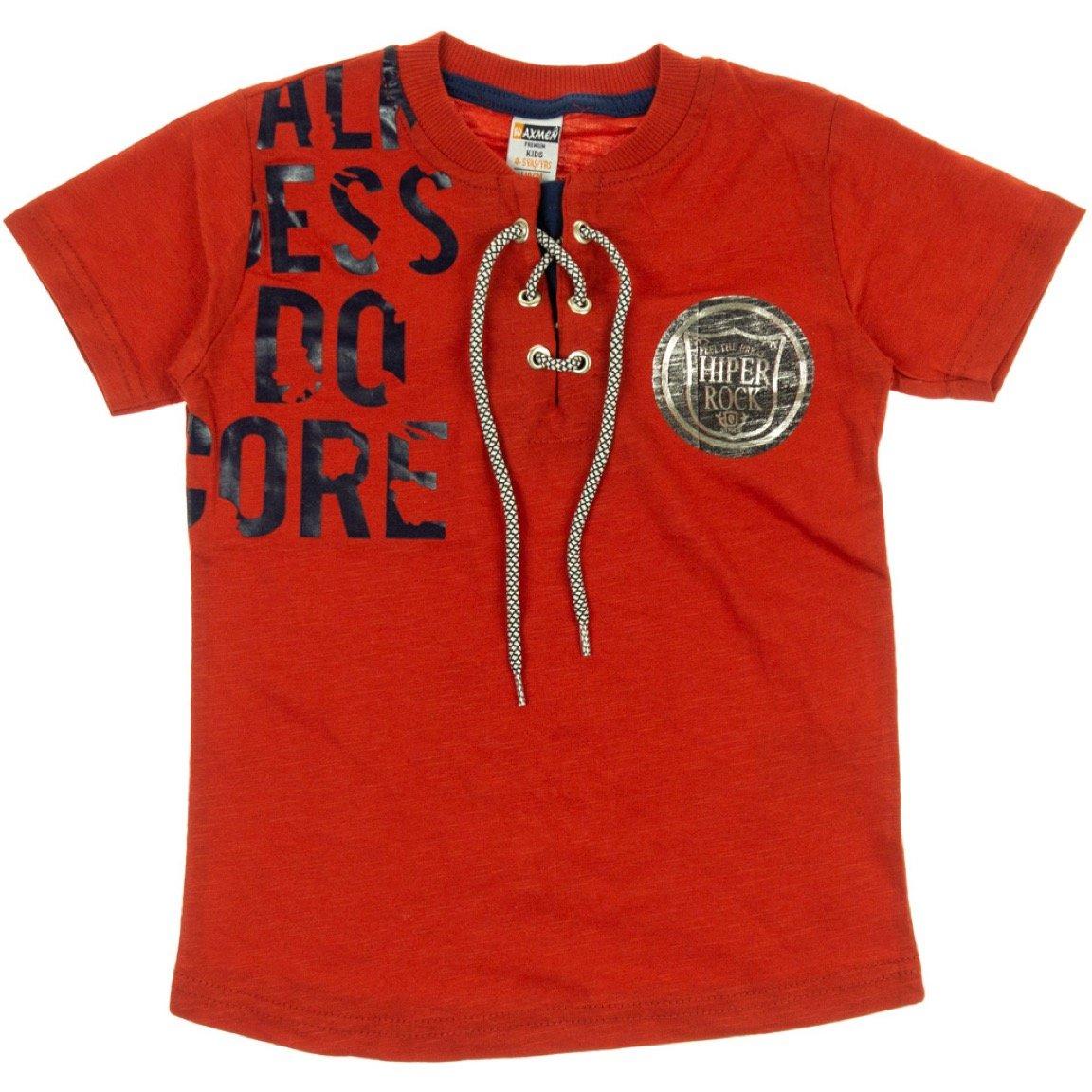 Waxmen παιδική μπλούζα «Feel the Beat in Red»