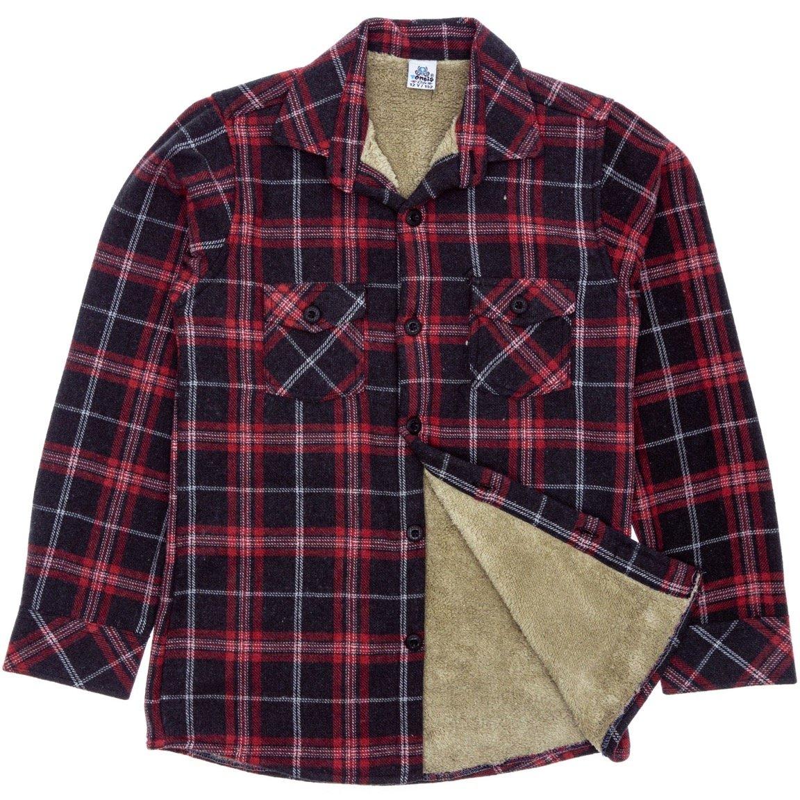 Tombis παιδικό πουκάμισο με γούνα «Mountain»