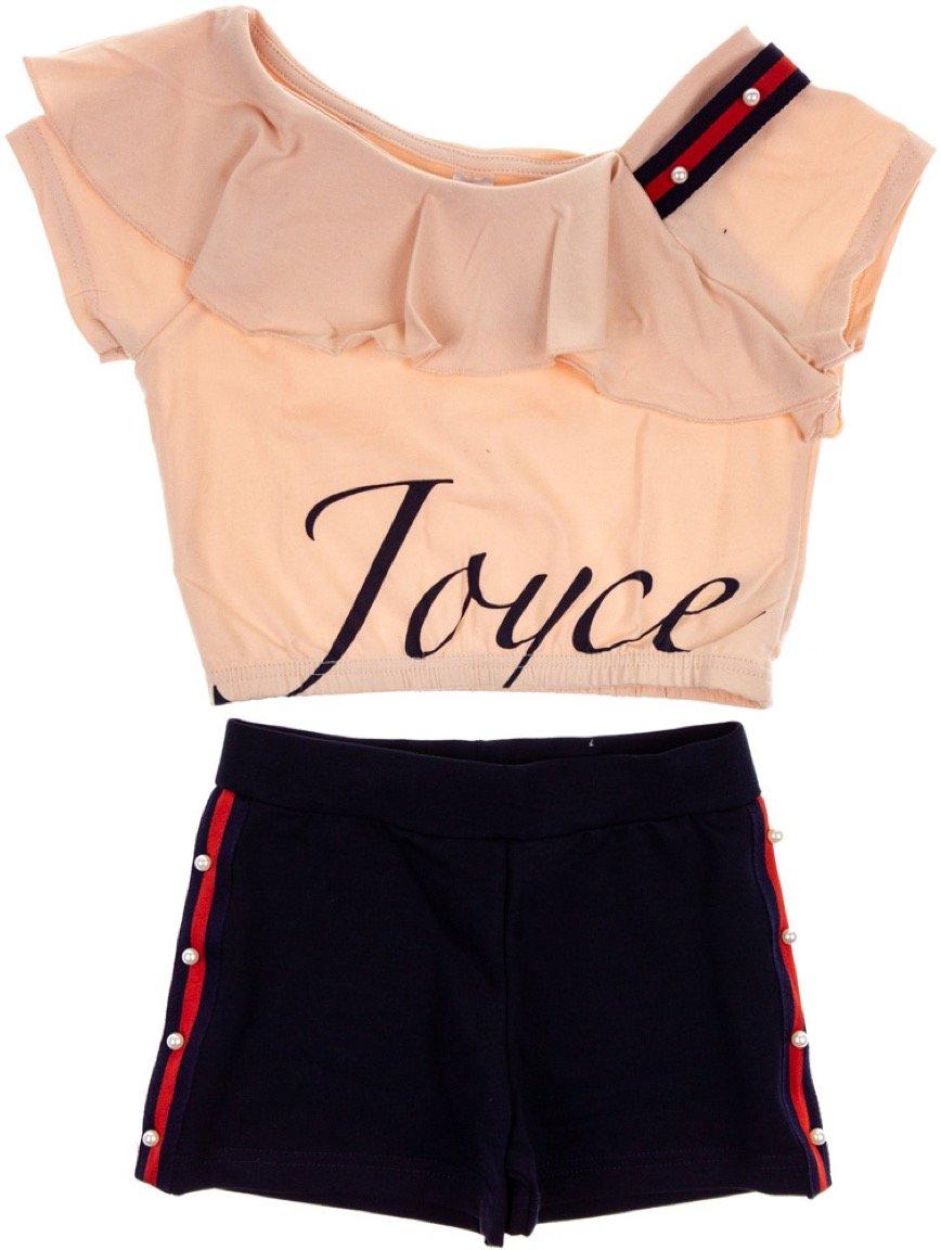 Joyce παιδικό σετ μπουστάκι-παντελόνι σορτς «Chic»