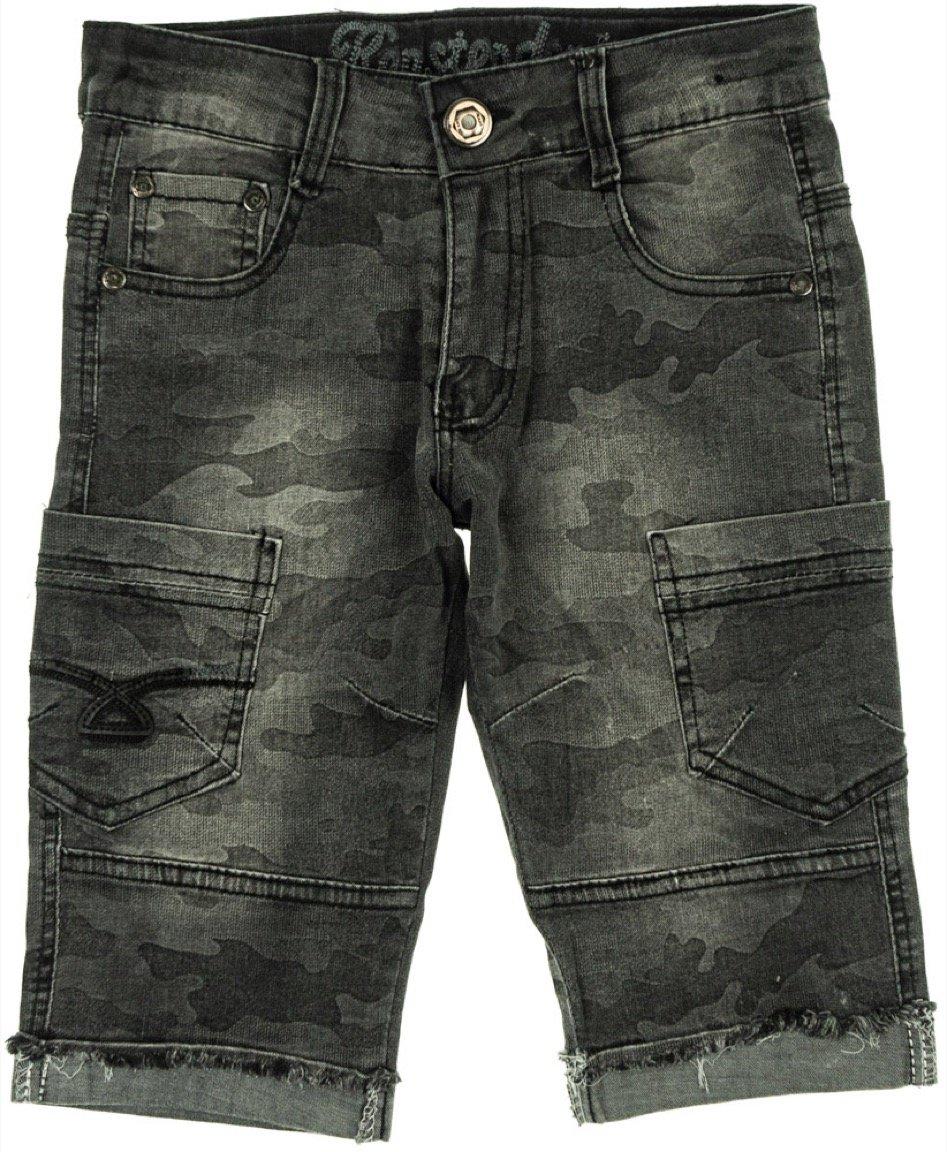 Kenster παιδικό παντελόνι βερμούδα τζιν «Military»