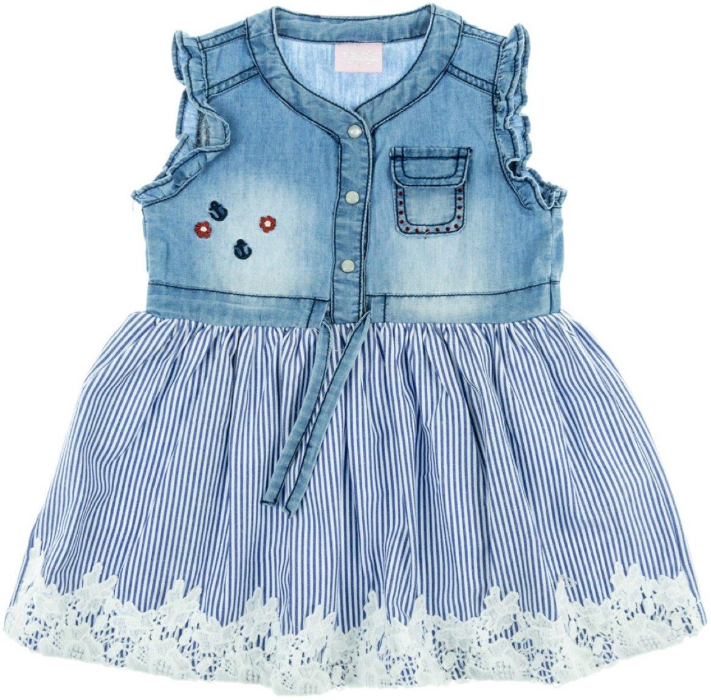 Εβίτα παιδικό τζιν φόρεμα «Anchor Girl»