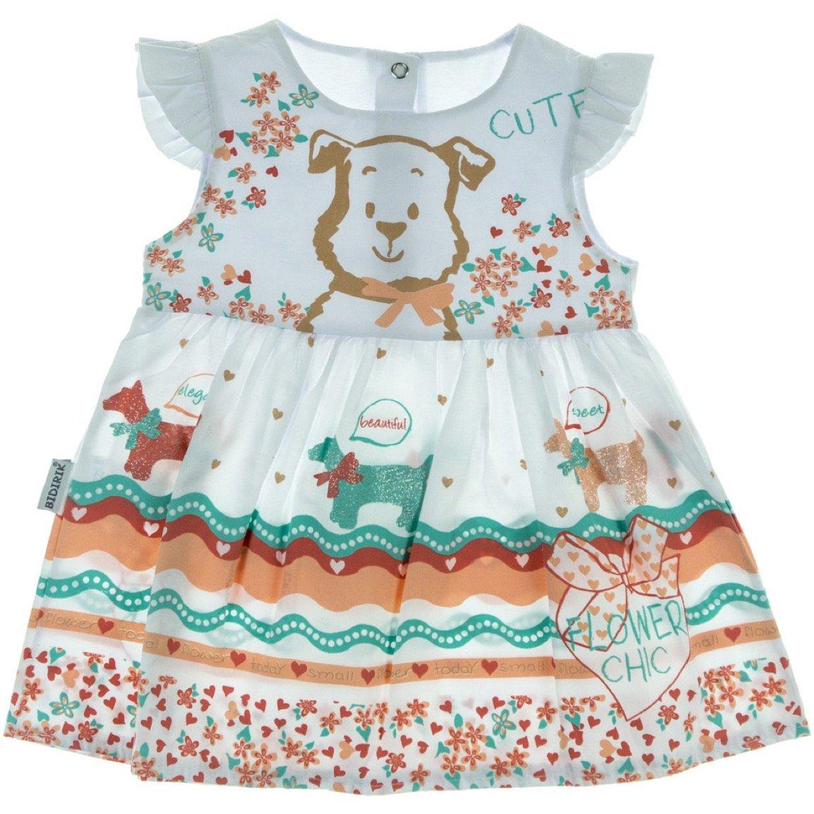Bidirik βρεφικό φόρεμα «Cute Dog»