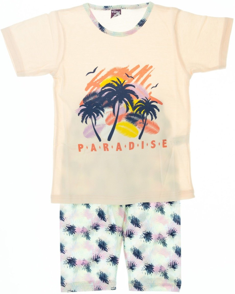 """Vitmo παιδική πιτζάμα """"Pink Paradise"""""""