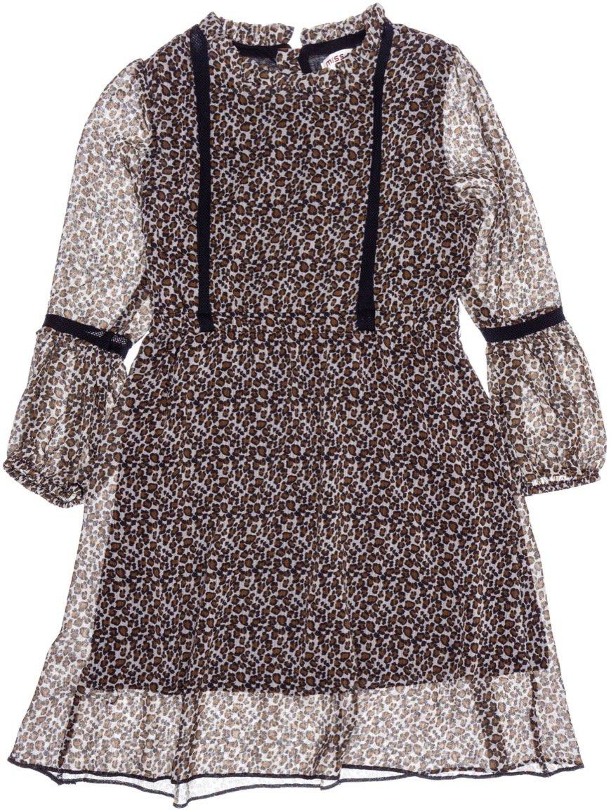 Εβίτα παιδικό αμπιγιέ φόρεμα «Leopard Chic»