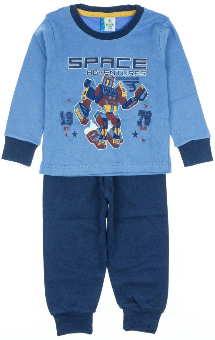 Bimbi Boys παιδική εποχιακή πιτζάμα «Space Adventures»