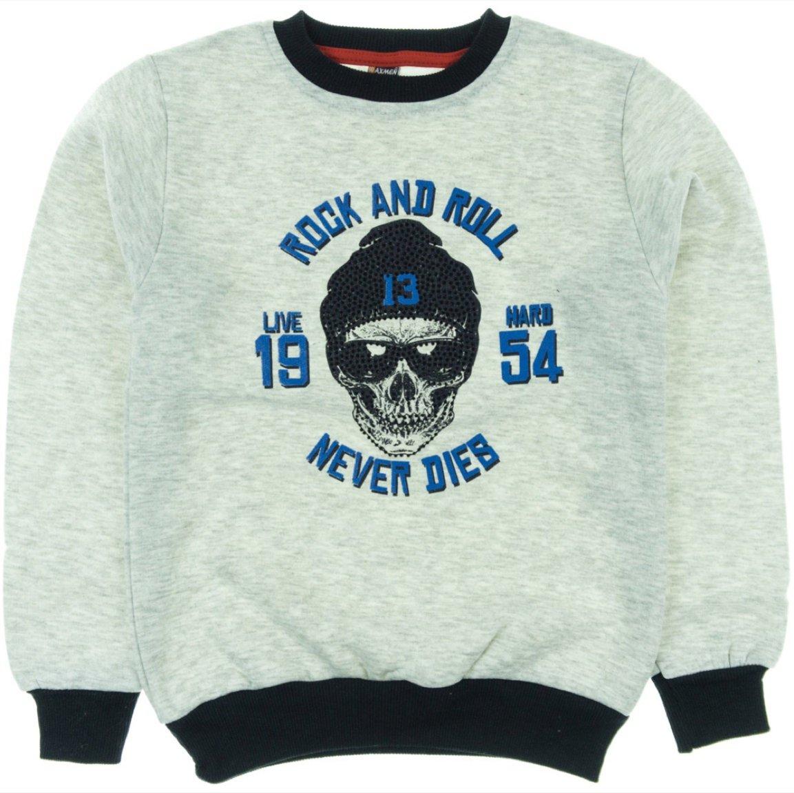 Waxmen παιδική φούτερ μπλούζα «Rock And Roll»