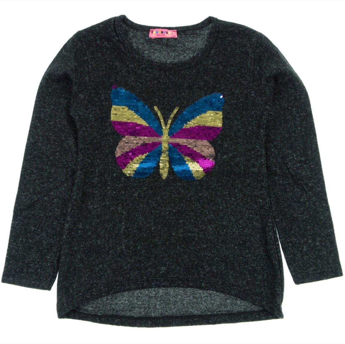 Tomurcuk παιδική μπλούζα «Multicolor Butterfly»