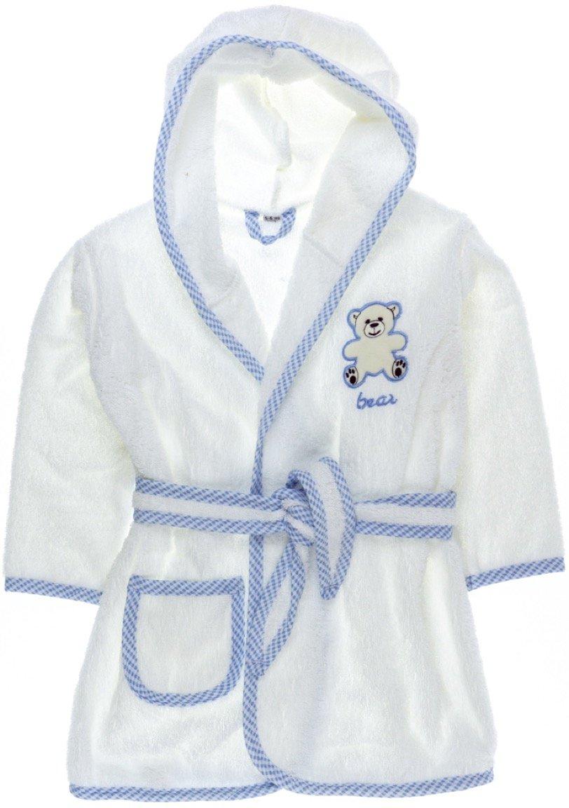 ΑΖ παιδικό μπουρνούζι «Blue Teddy»