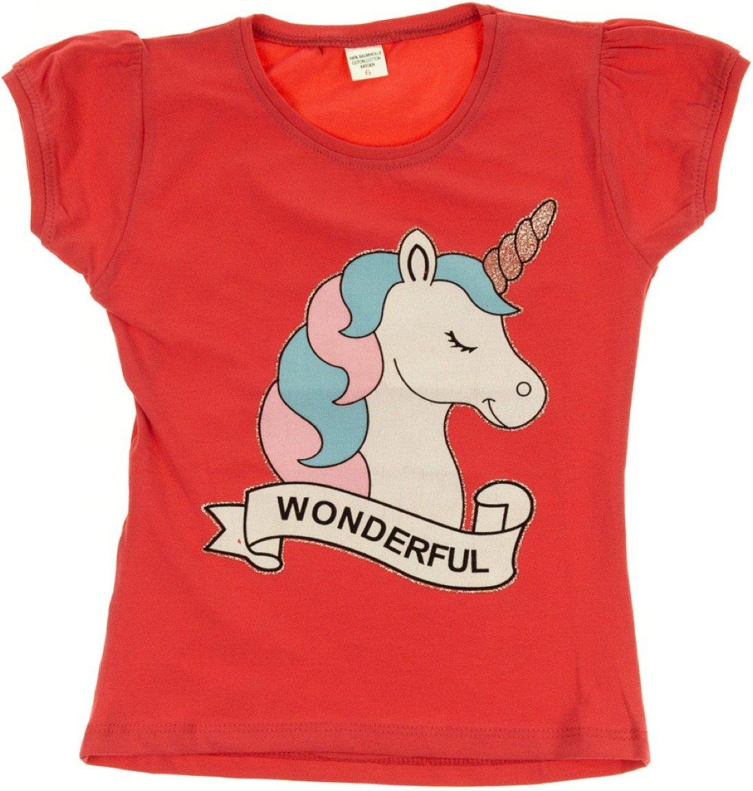 Ecrin παιδική μπλούζα «Wonderful Unicorn»