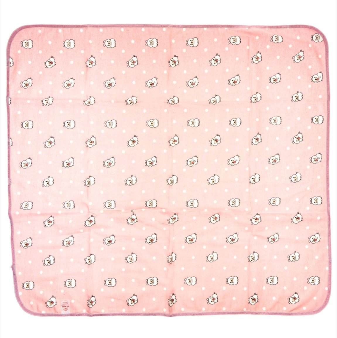 Gul Bebe βρεφική πάνα αγκαλιάς «Pink Pug»