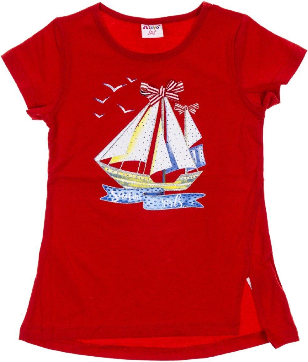Ativo παιδική μπλούζα «Red Sailing Girls»