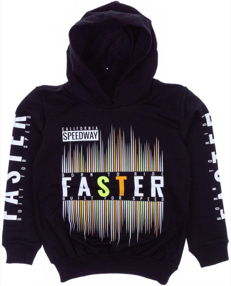 Boinc παιδική εποχιακή μπλούζα φούτερ «Faster»