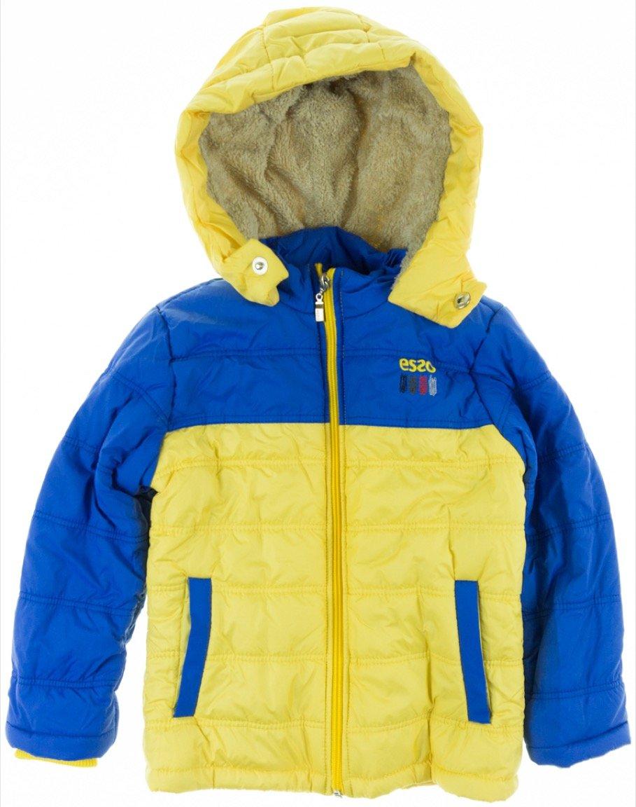 Esso παιδικό μπουφάν «Yellow Zippers»