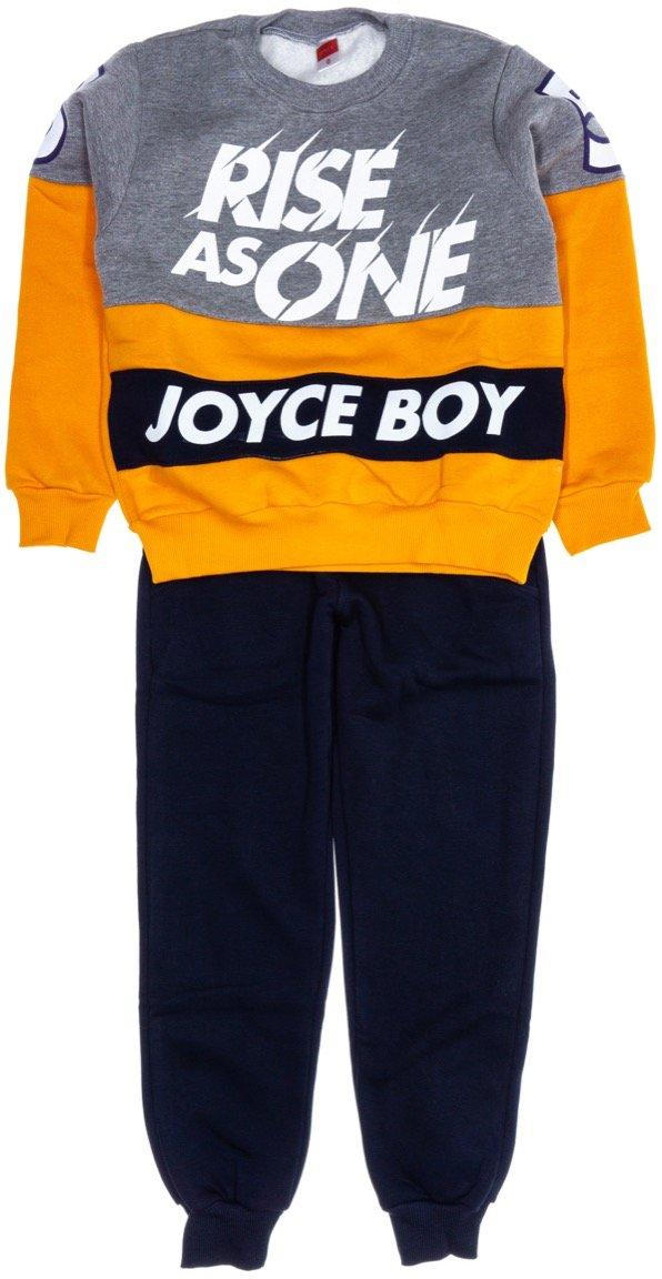 Joyce παιδικό σετ φόρμα μπλούζα-παντελόνι «Rise as One»