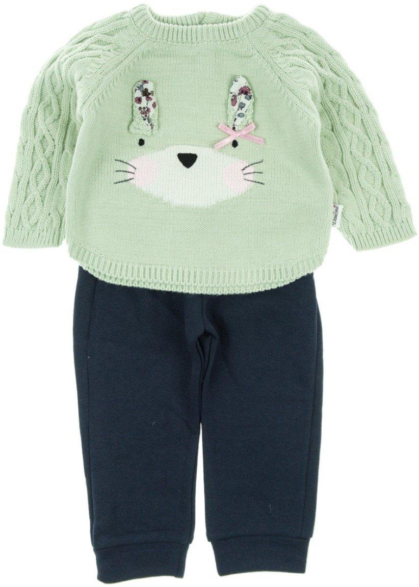 Domino βρεφικό σετ μπλούζα-παντελόνι «Bunny»