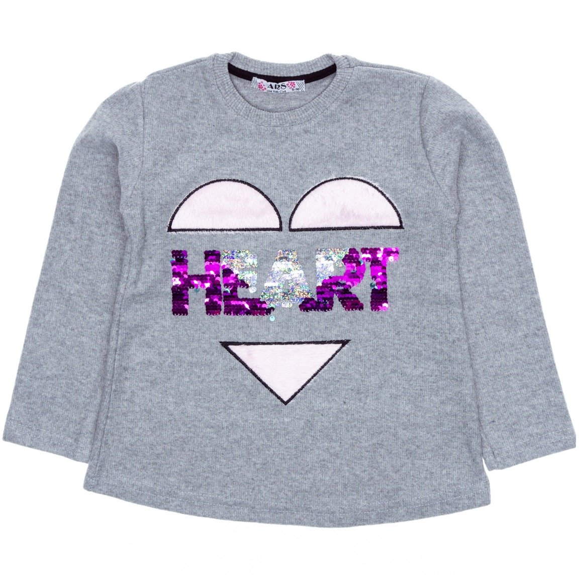 ARS παιδική μπλούζα «Grey Heart»