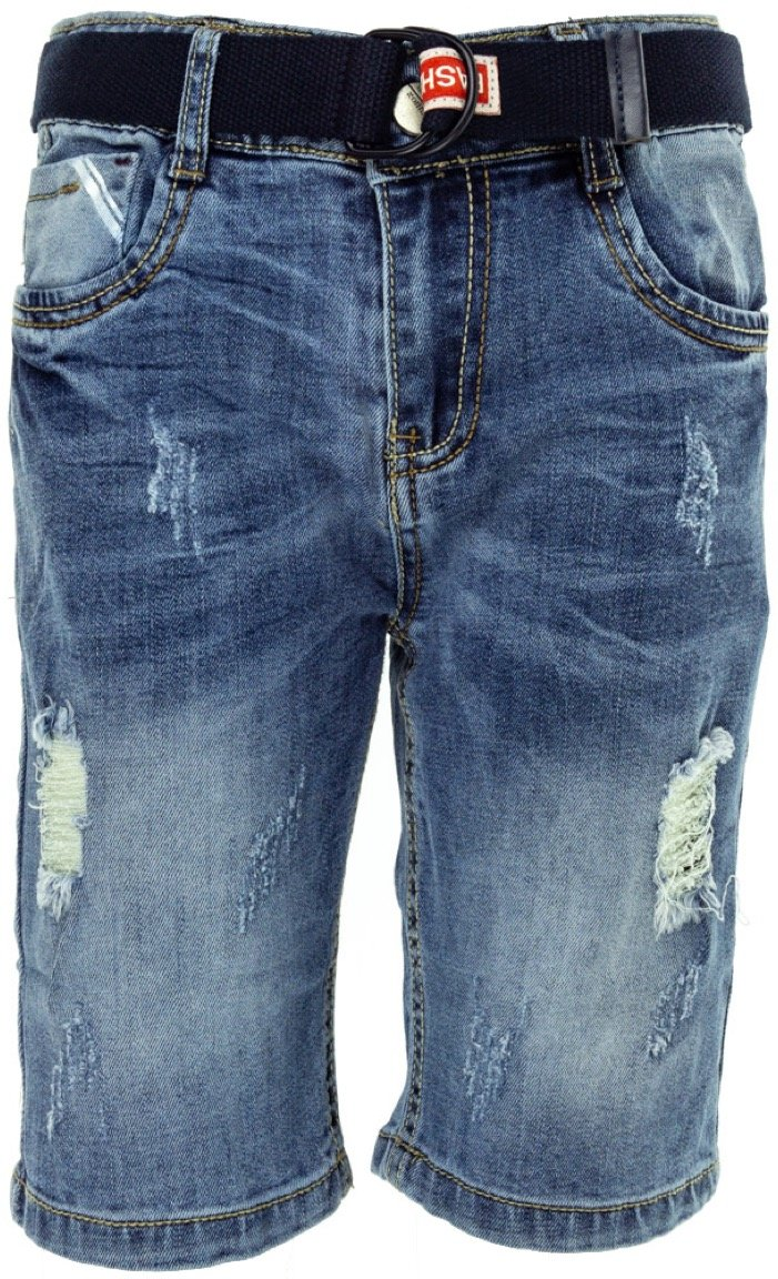 JNS παιδικό παντελόνι βερμούδα τζιν «Slash»