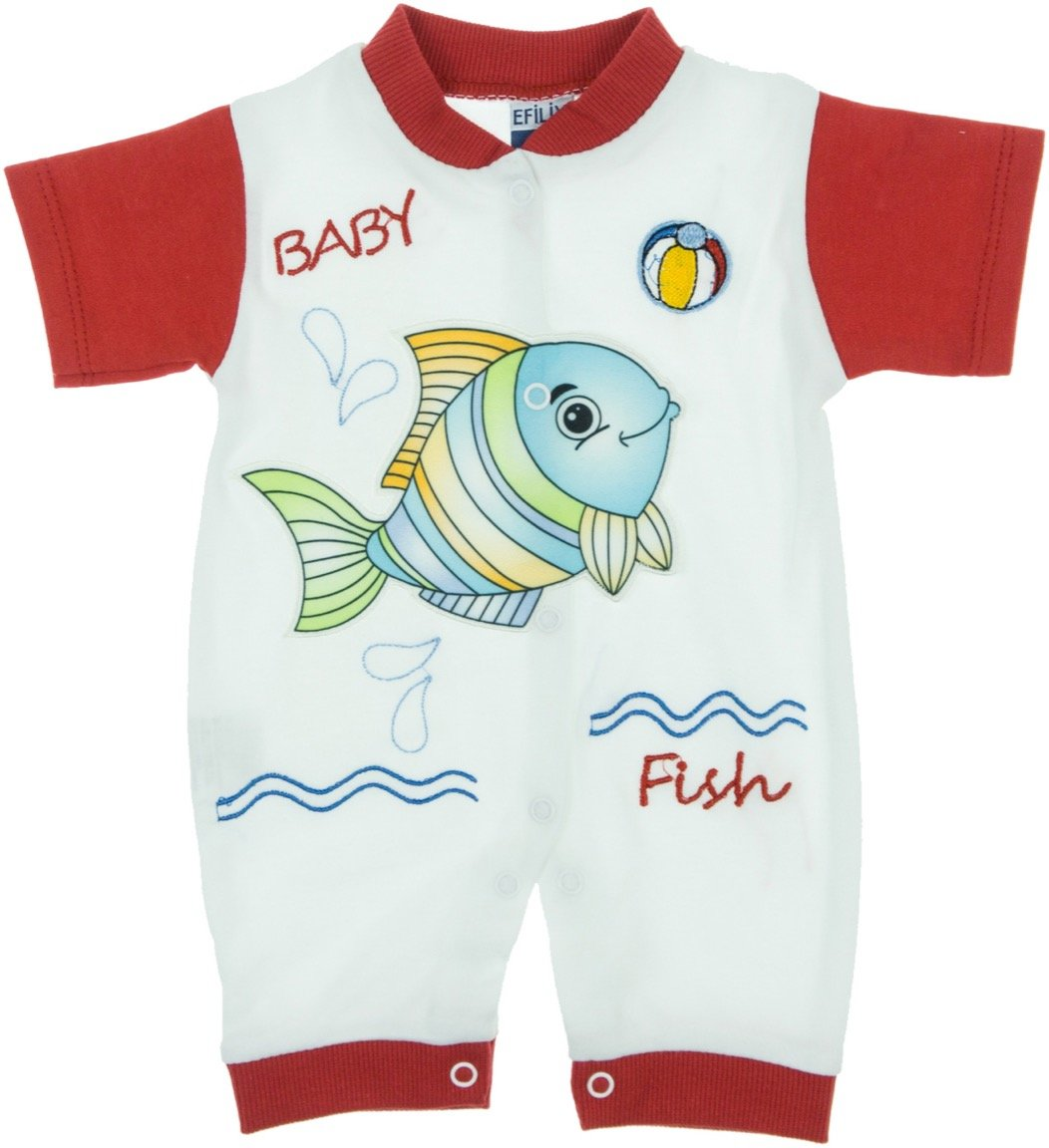 Efilix βρεφικό φορμάκι «Baby Fish»