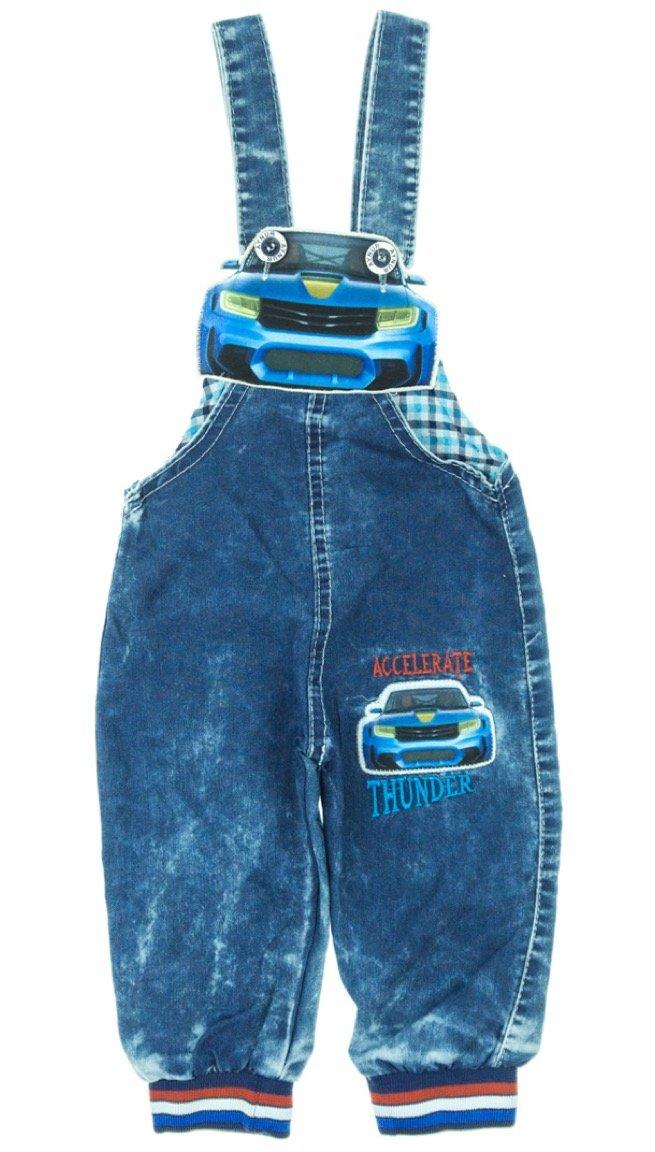Aynur βρεφικό εποχιακό παντελόνι σαλοπέτα «Blue Car»
