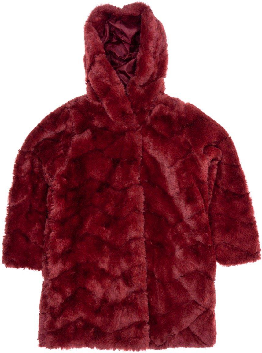 Εβίτα παιδικό γούνινο παλτό «Elegance»