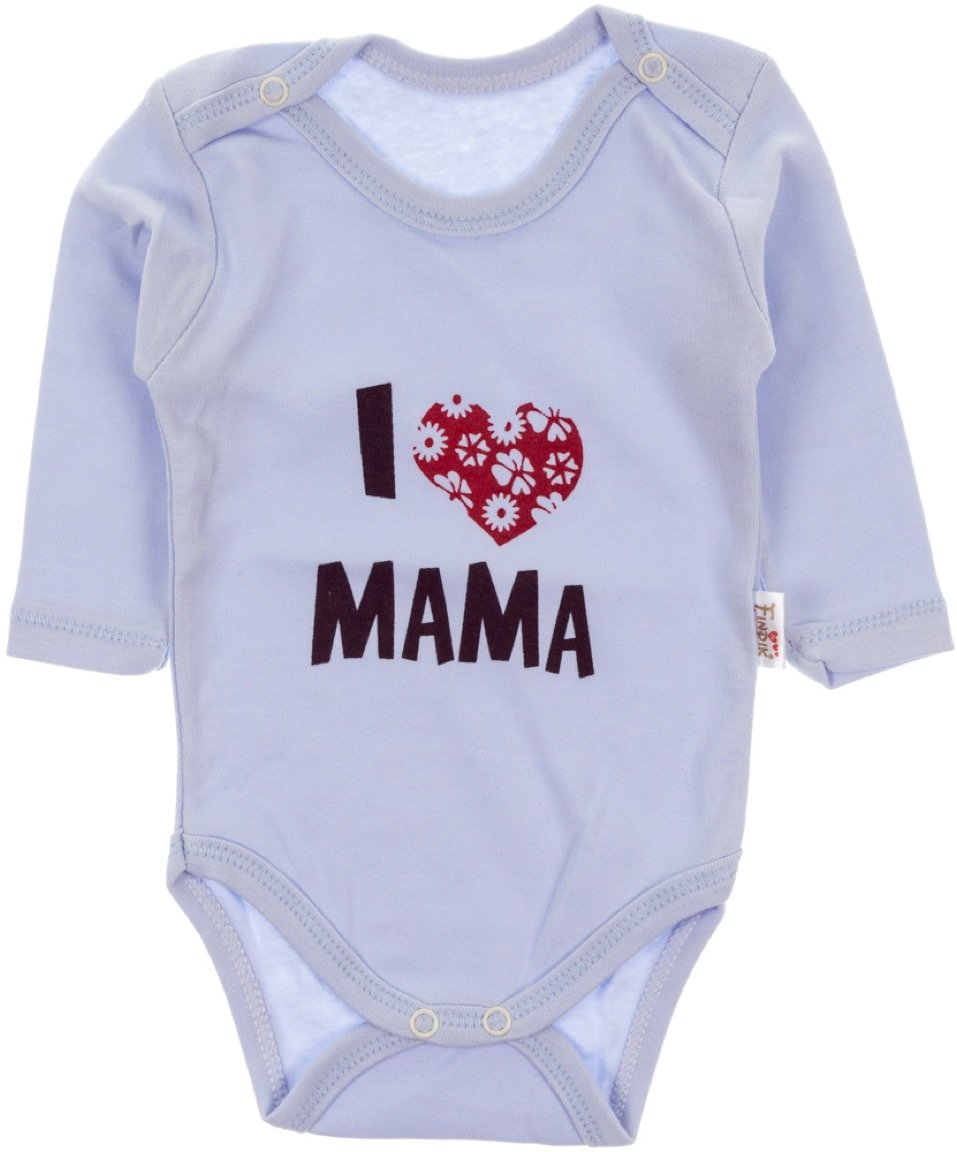Pabbuc βρεφικό κορμάκι «I Love Mama»