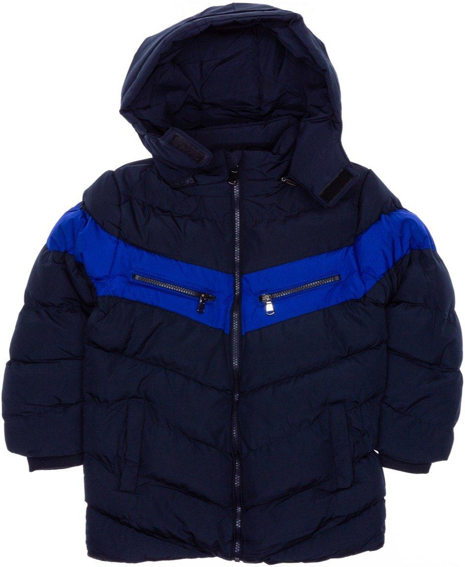New Kids παιδικό μπουφάν με αποσπώμενη κουκούλα «Blue Austere»