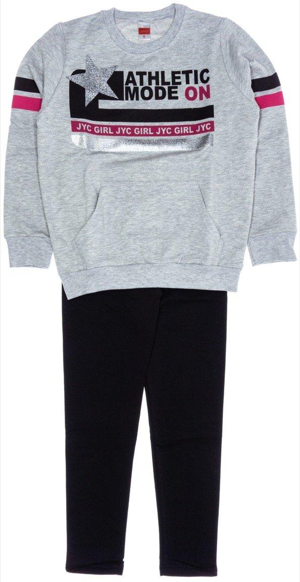 Joyce παιδικό σετ μπλούζα-παντελόνι κολάν «Athletic Mode»