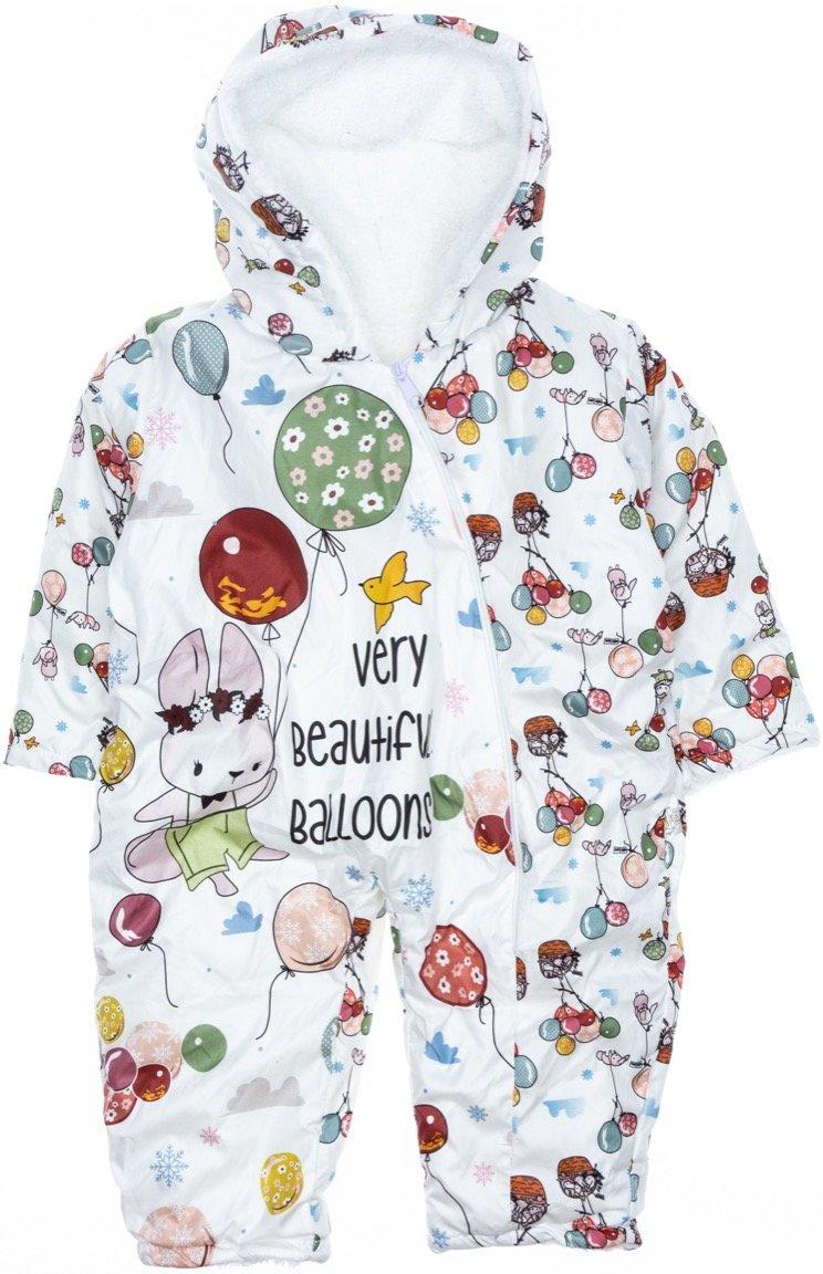 Pantuf βρεφικό φορμάκι εξόδου «Beautiful Balloons»