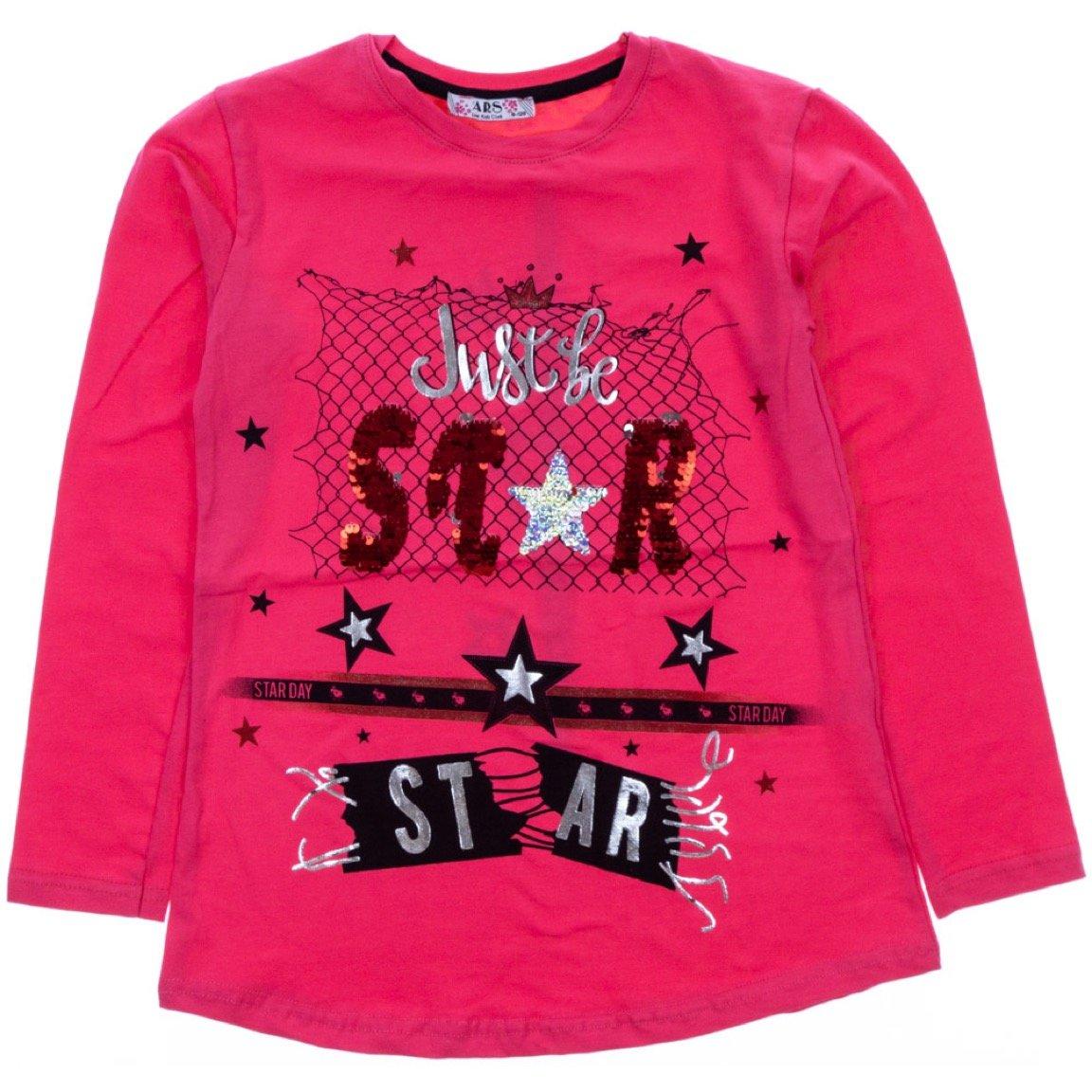 ARS παιδική εποχιακή μπλούζα «Coral Star Day»