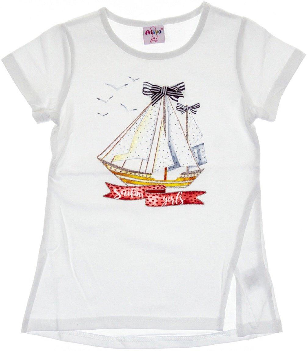 Ativo παιδική μπλούζα «White Sailing Girls»