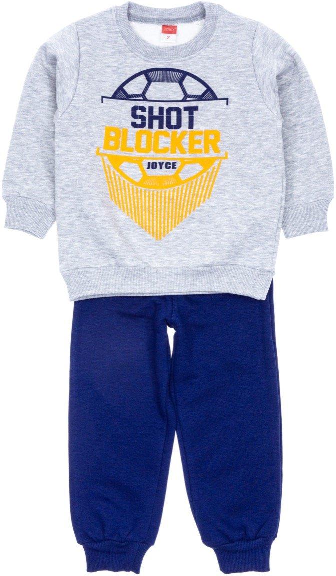 Joyce παιδικό σετ φόρμα μπλούζα-παντελόνι «A Shot Blocker»