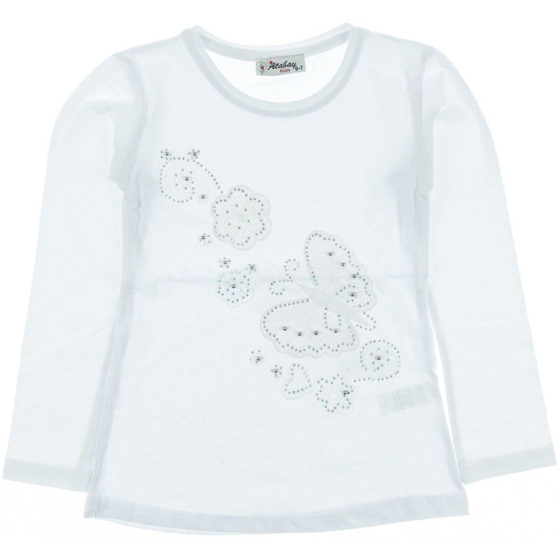 Atabay παιδική εποχιακή μπλούζα «White Sky»
