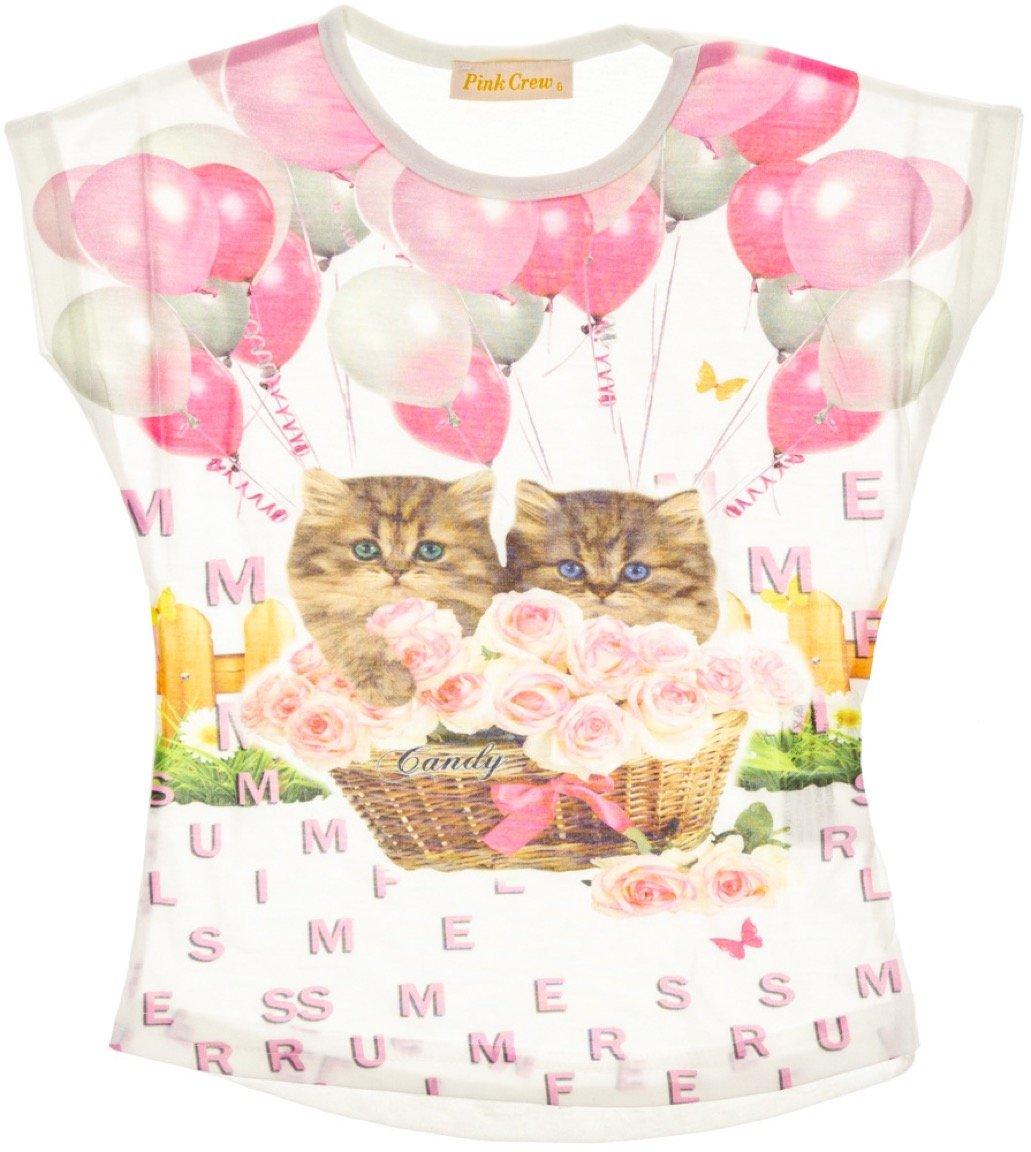 Pink Crew παιδική μπλούζα «Candy»