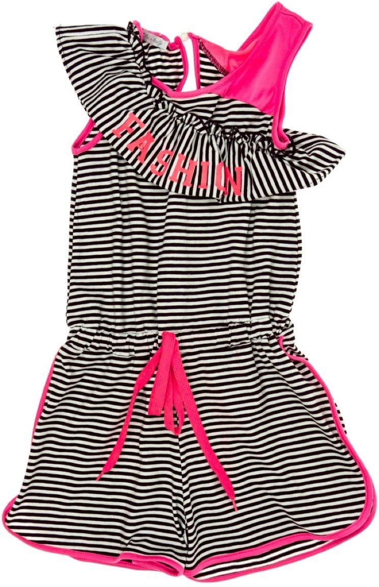 Dafny παιδικό ολόσωμο παντελόνι σορτς «Pink Fashion»