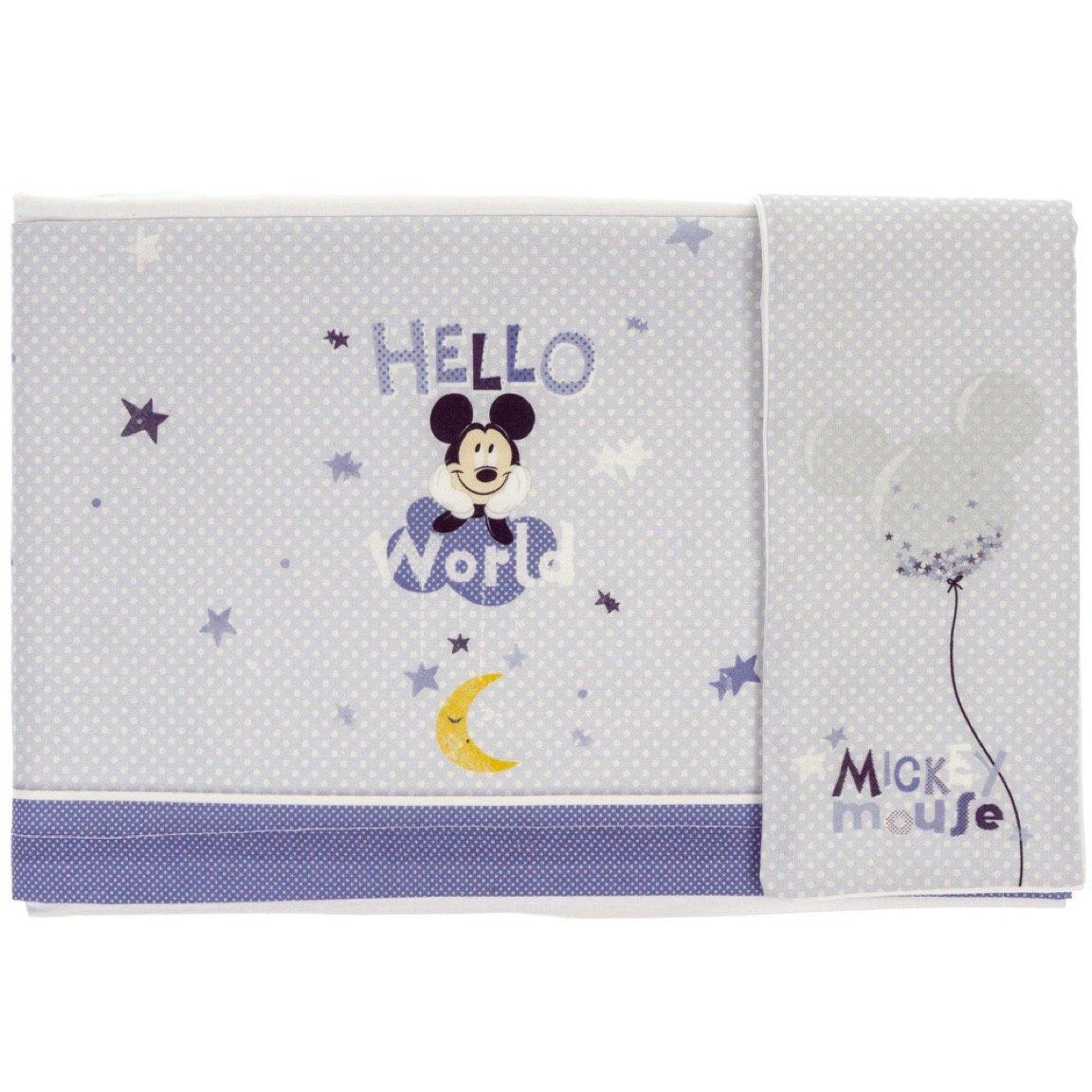 Disney Baby σεντόνια σετ τριών τεμαχίων για λίκνο-καλαθούνα «Lovely Mickey»