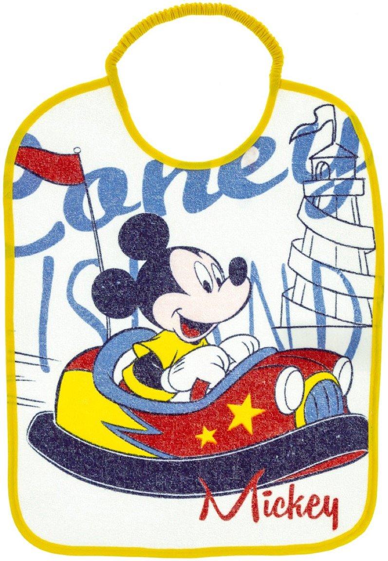 Disney βρεφική σαλιάρα φαγητού «Mickey's Yellow Car»