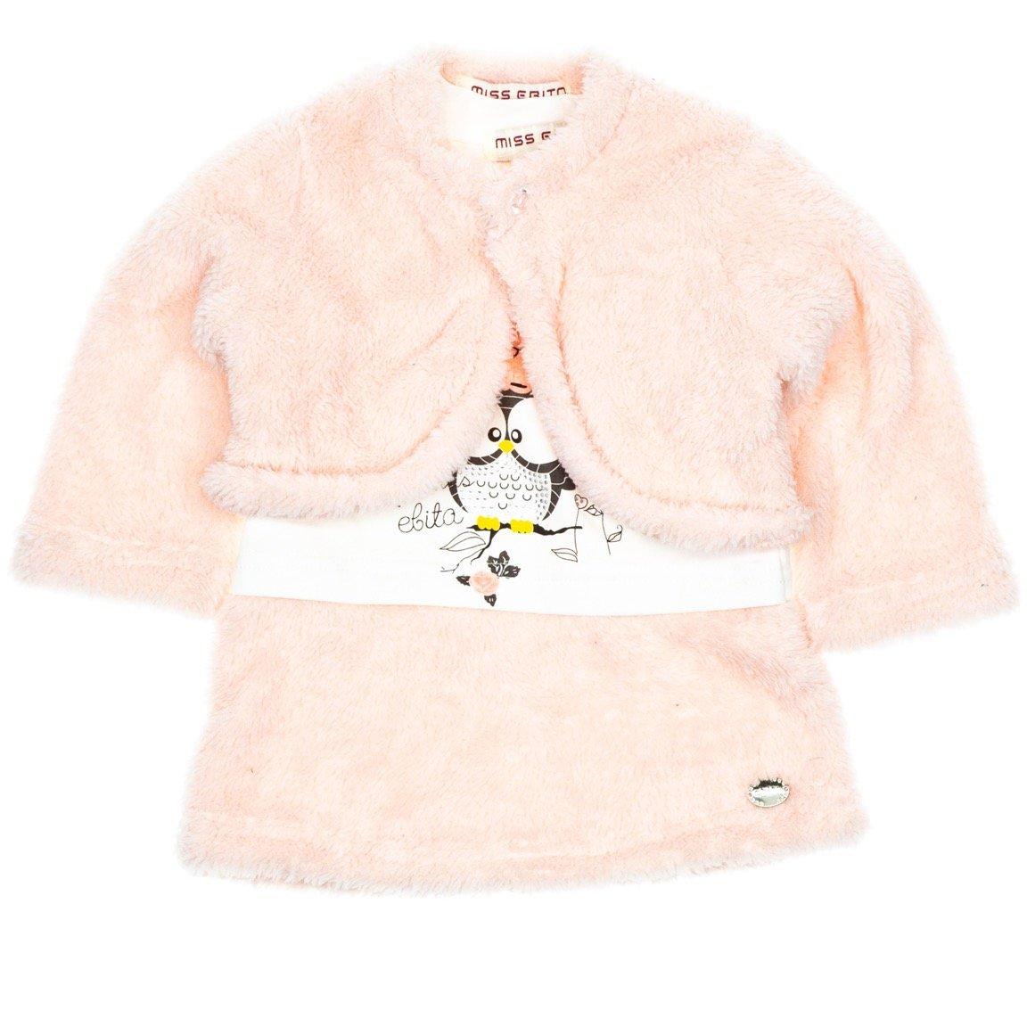 Εβίτα βρεφικό φόρεμα και μπολερό «Cucu»