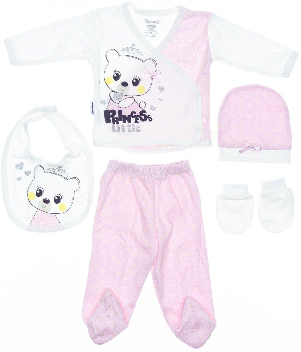 Miniworld βρεφικό εποχιακό σετ δώρου πέντε τεμαχίων «Princess Little»