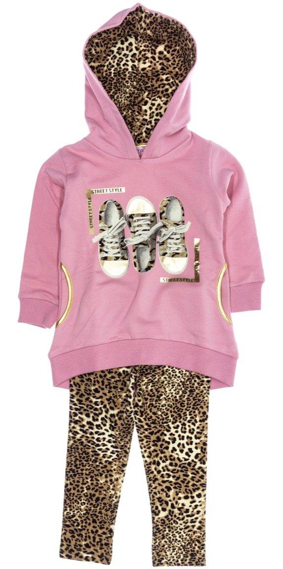 Εβίτα παιδικό εποχιακό σετ μπλούζα-παντελόνι κολάν «Street Style»